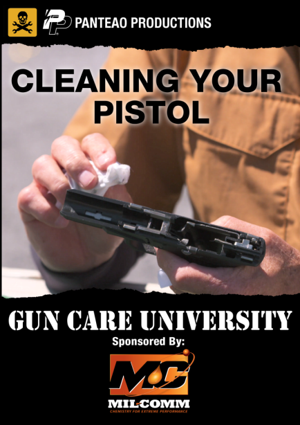 Cleaning Your Pistol Cover sm2