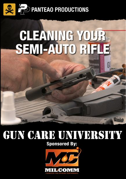 Cleaning Your Semi Auto Rifle Cover sm